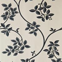 ペイント壁紙 花柄 リングウォルド(GRAY)
