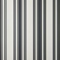 ペイント壁紙 ストライプ柄 テンテッドストライプ(ホワイト×ブラック)