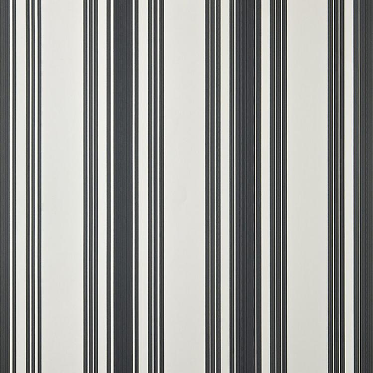 ペイント壁紙 テンテッドストライプ(ホワイト×ブラック)