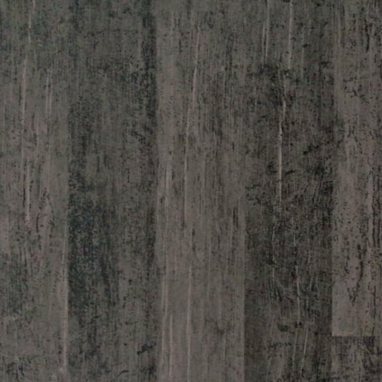 古材×ダマスク柄の壁紙 チャコール
