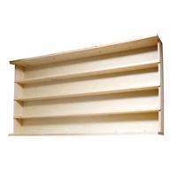 造り付け本棚 文庫本用4段タイプ