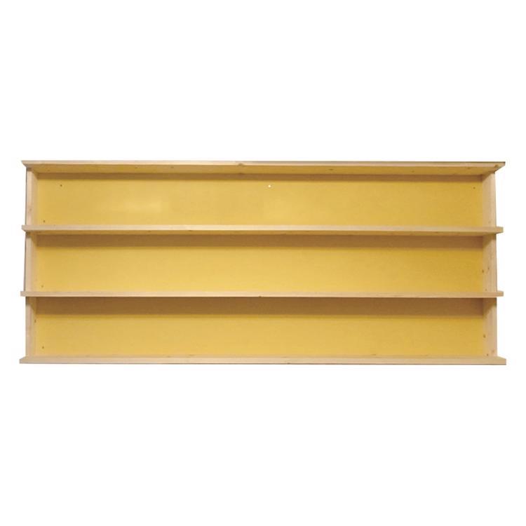 造り付け本棚 中型本用3段タイプ