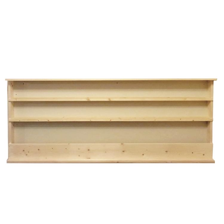造り付け本棚 文庫2段+雑誌1段タイプ