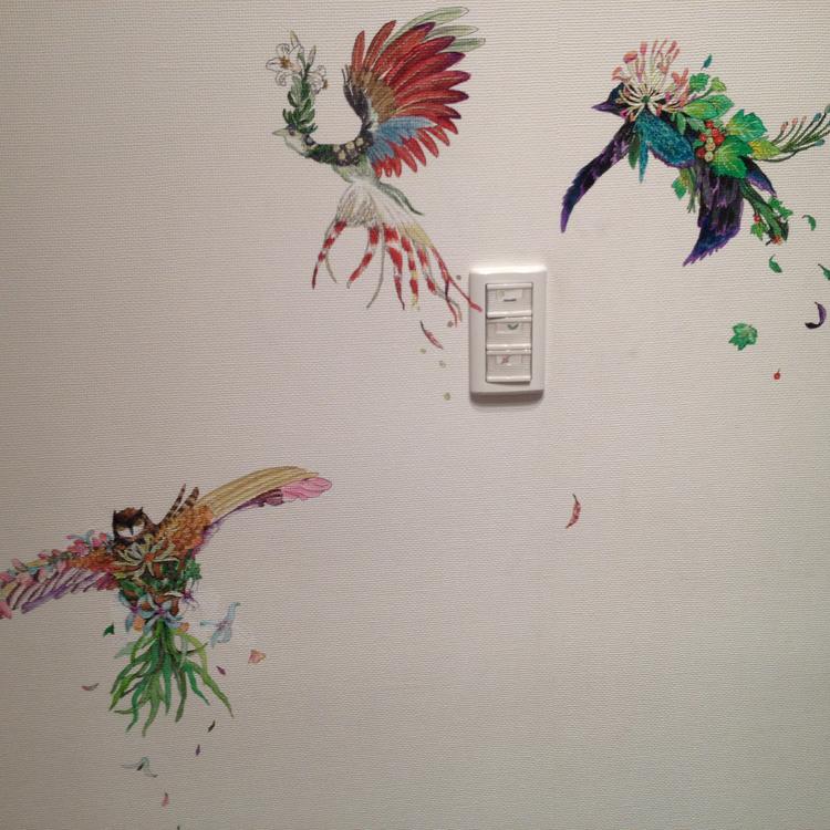 壁画・天井画 3つの小モチーフ 描き易い場所