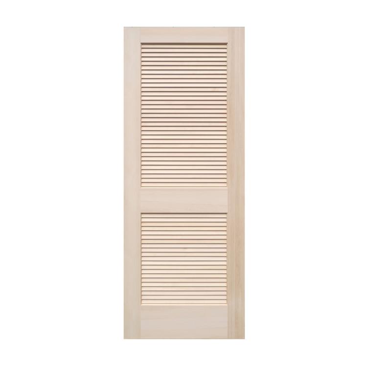 木製パインドア ルーバードア W735