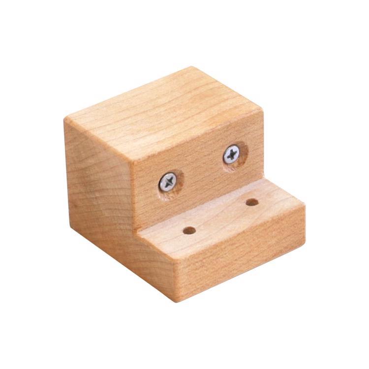 木の手摺 ブラケット(メープル)
