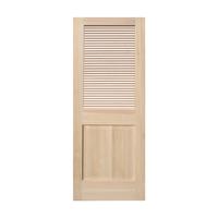 木製パインドア ルーバーフラットドア W813
