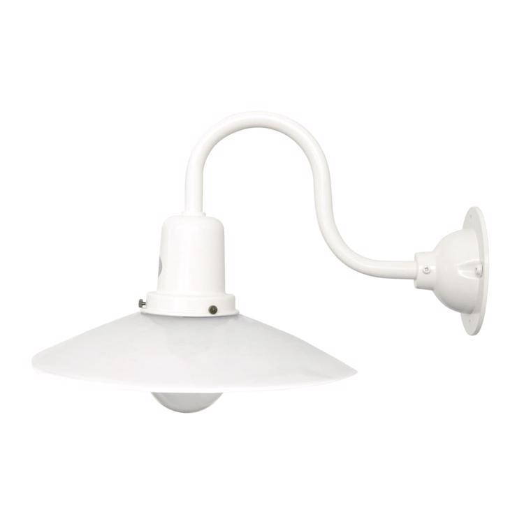 レトロブラケットライト 水平アーム 乳白×ホワイト