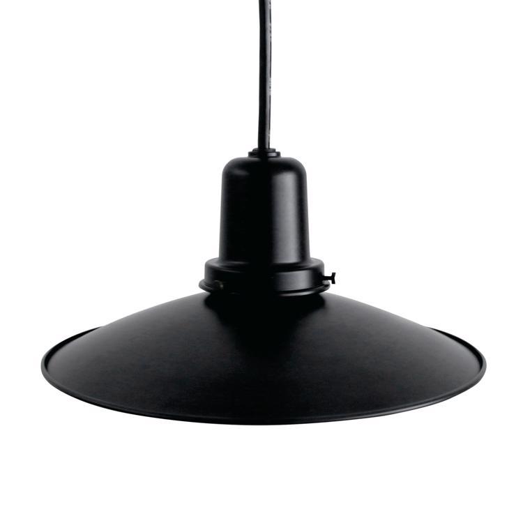 レトロペンダントライト ブラック×ブラック