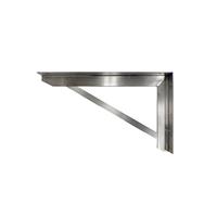 オーダーキッチン天板 壁付けブラケット D450 (L)