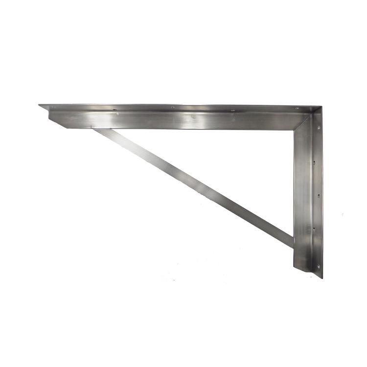 オーダーキッチン天板 壁付けブラケット D550 (L)