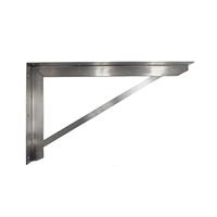オーダーキッチン天板 壁付けブラケット D550 (R)