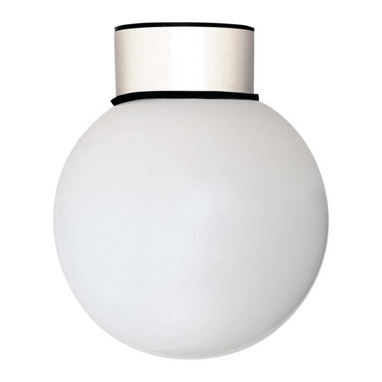 ボールライト 乳白×ホワイト