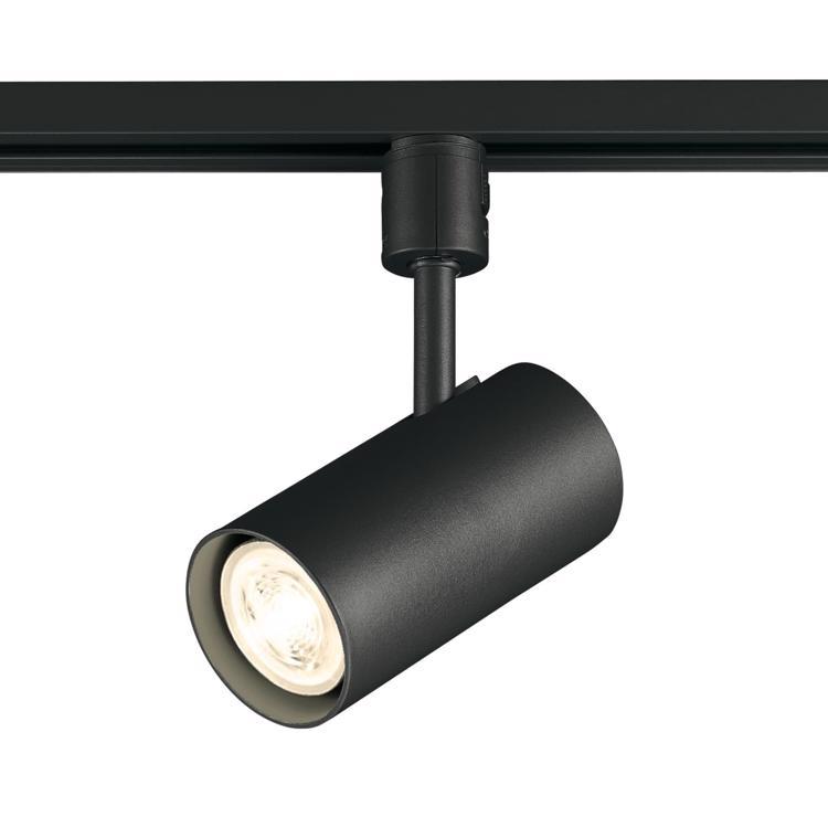 スポットライト 筒型 LEDダイクロハロゲン BK