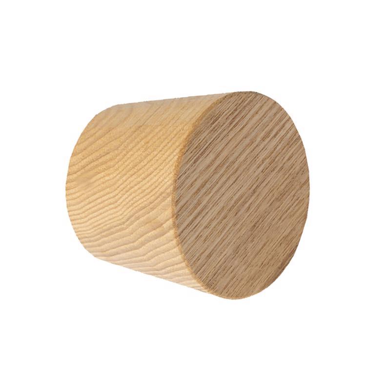 木のドアパーツ ドアノブ タモ