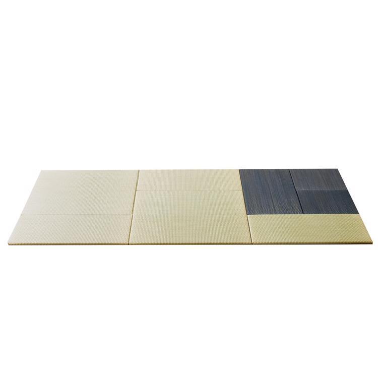 パネル型置き畳 ナチュラル×グレー