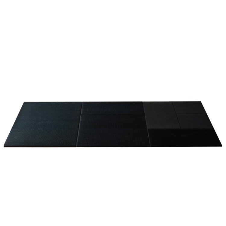 パネル型置き畳 ブラック