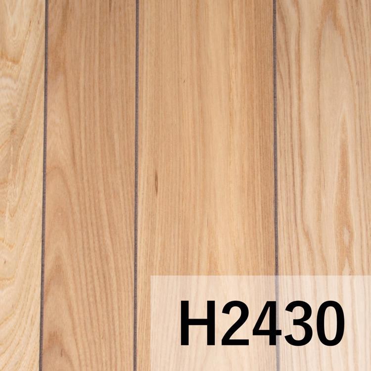 ウッドウォールパネル ニレ板目 クリア塗装 H2430