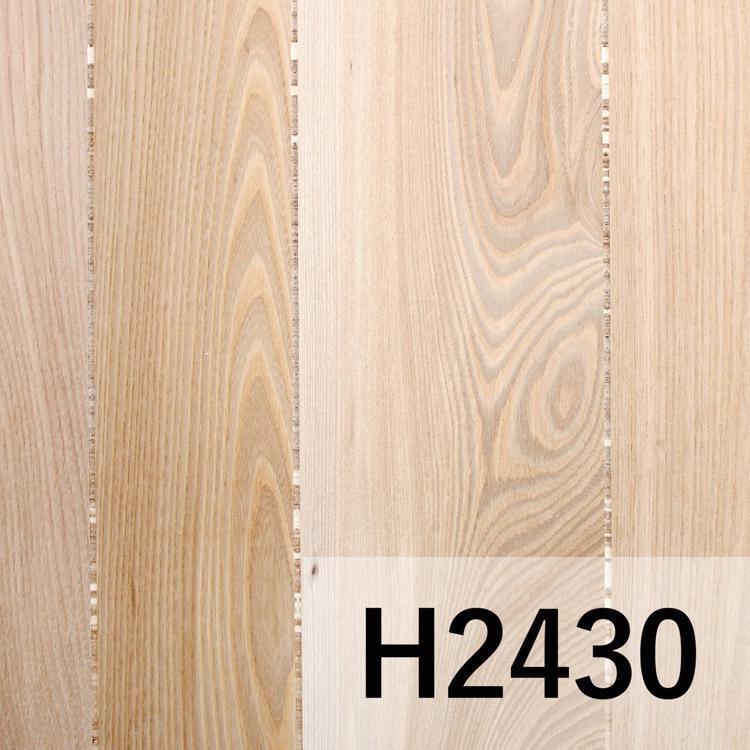 ウッドウォールパネル ニレ板目 無塗装 H2430