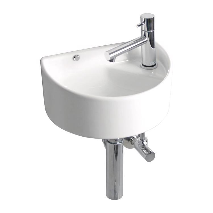 コンパクト手洗い器 ラウンド