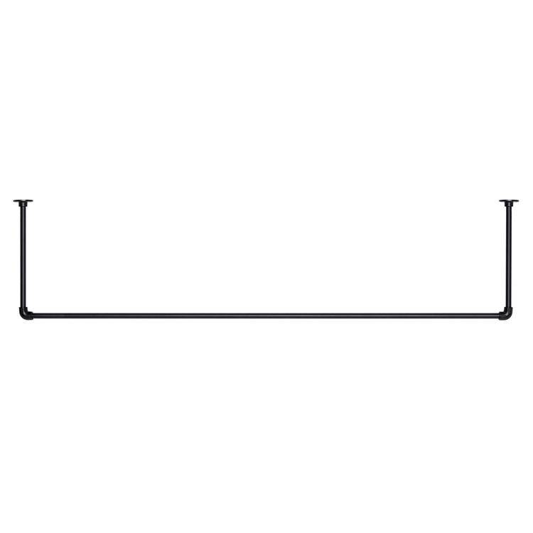 アイアンハンガーパイプ コの字型-天井吊タイプ