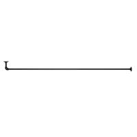 アイアンハンガーパイプ L型-棚下吊タイプ