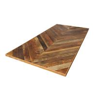 古材天板 ヘリンボーン1800×900