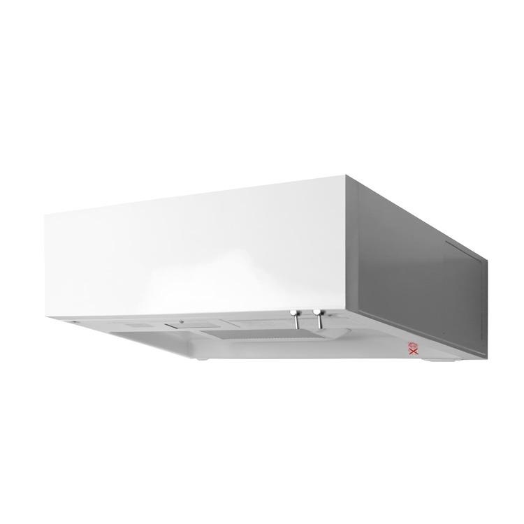 フラットレンジフード 壁付け型 W600 ホワイト