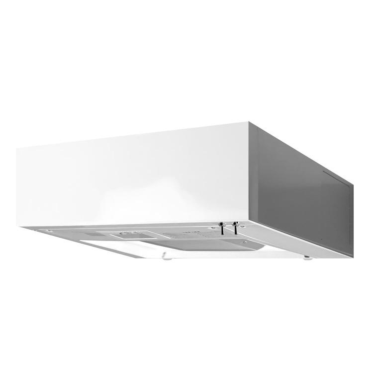 フラットレンジフード 壁付け型 W750 ホワイト