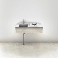 ミニマルキッチン 壁付け W900×D500