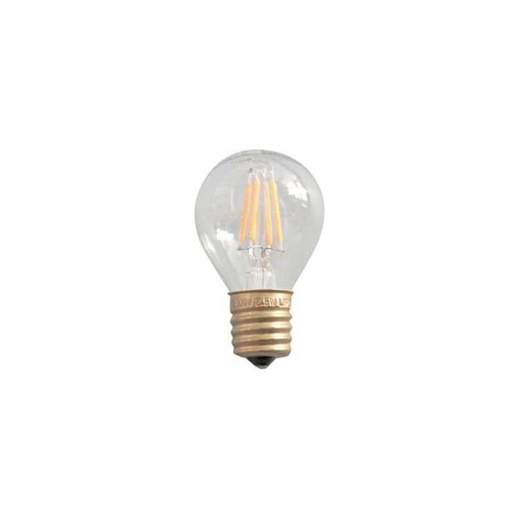 ビンテージLED電球 LEDボール35(E17)15W相当