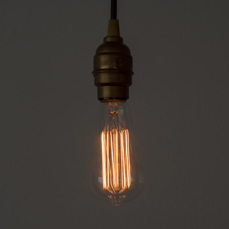 白熱アート電球 白熱エジソン(E26)40W