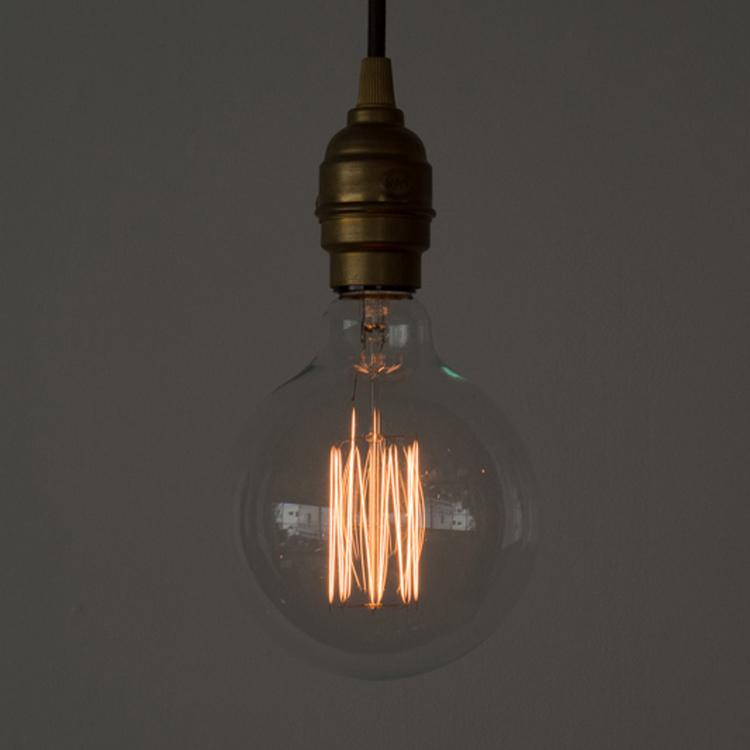 白熱アート電球 白熱ボール125(E26)40W