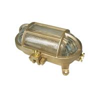 船舶照明 甲羅型ライト真鍮