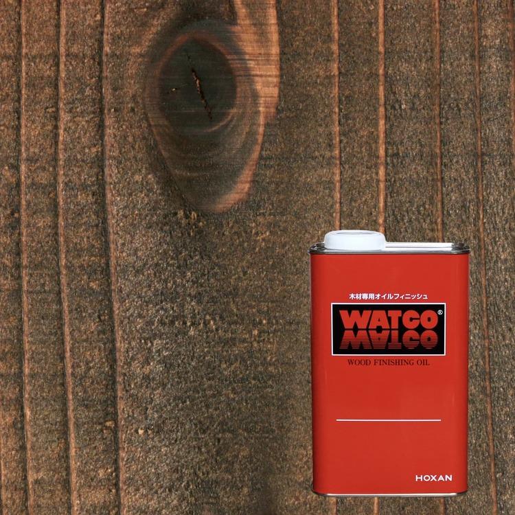 ワトコオイル エボニー 1L缶