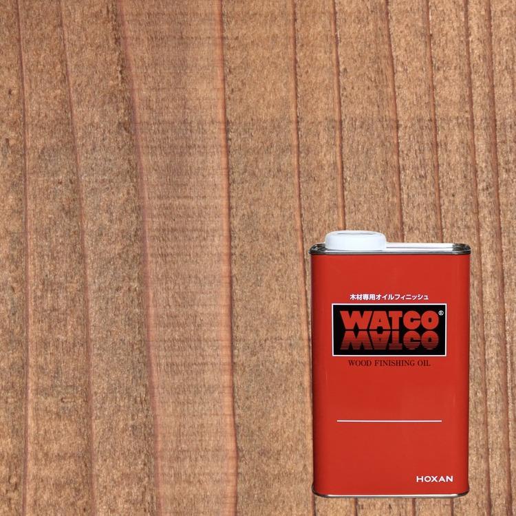 ワトコオイル ミディアムウォルナット 1L缶