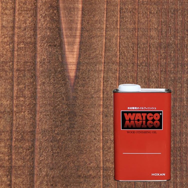 ワトコオイル ダークウォルナット 1L缶