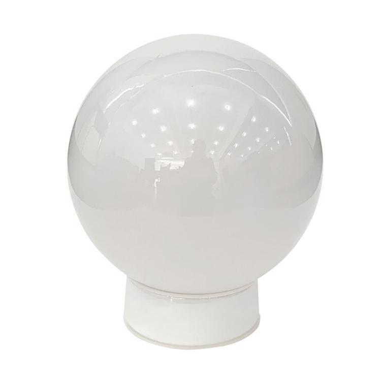 ミルクガラス照明 ボール(中)