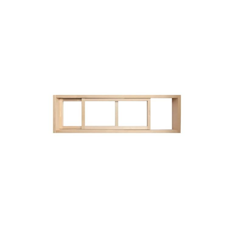 木製室内窓 横長引き違いタイプ サイズオーダー