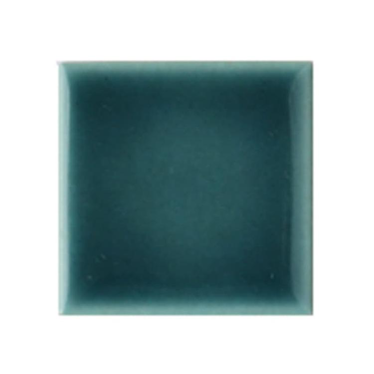 水彩タイル 50角 ティールブルー(シート)