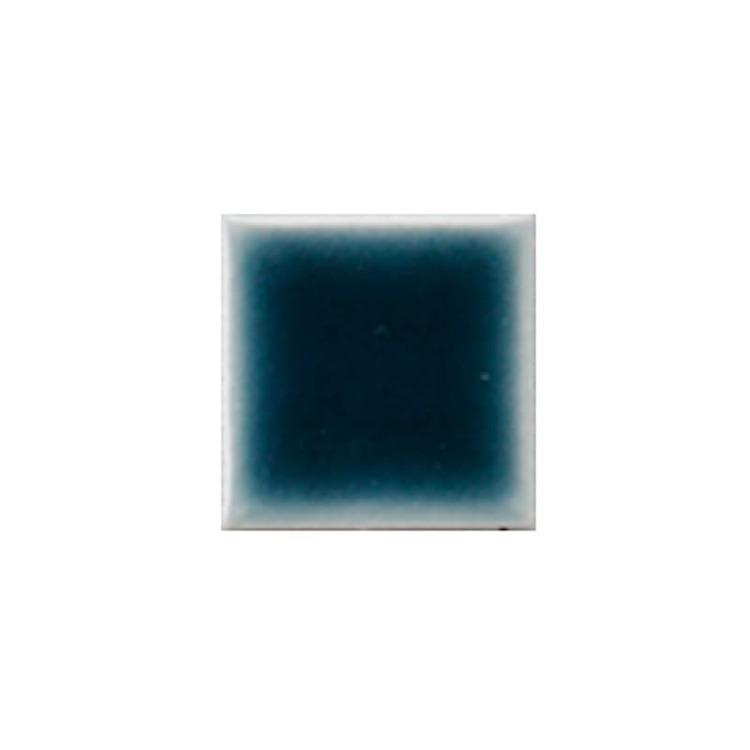 水彩タイル 25角 ティールブルー(シート)