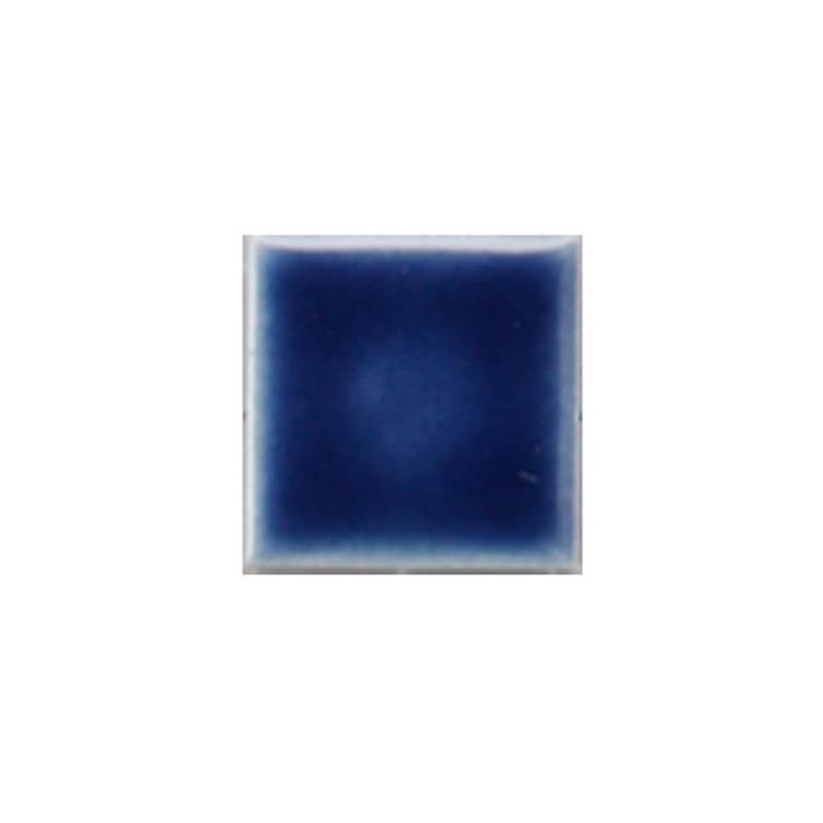 水彩タイル 25角 ネイビーブルー(シート)