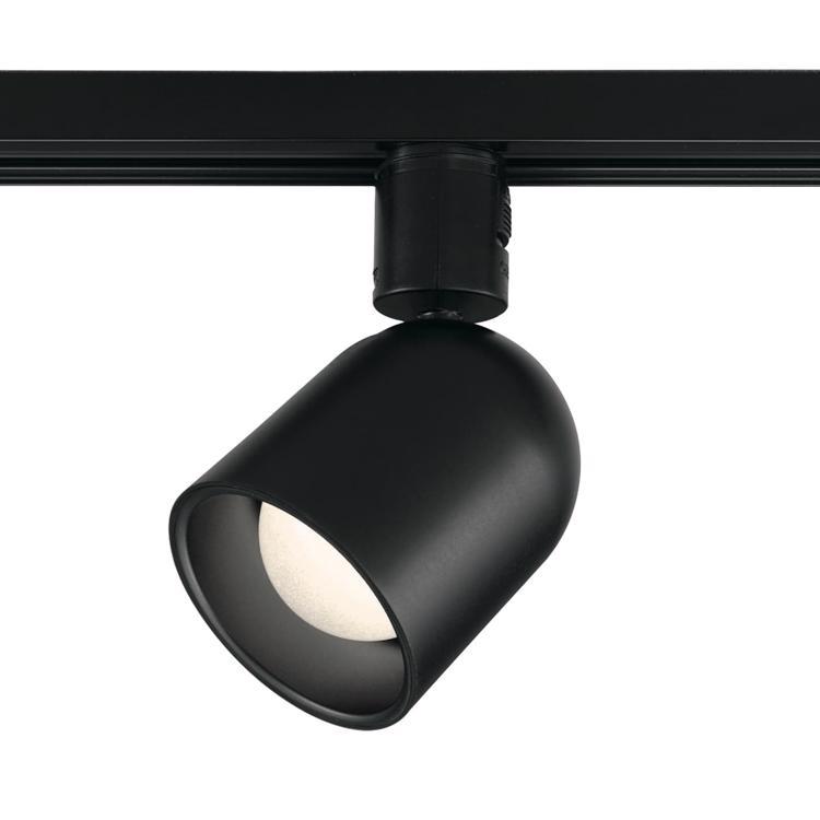 スポットライト 丸型 LED一体型 BK