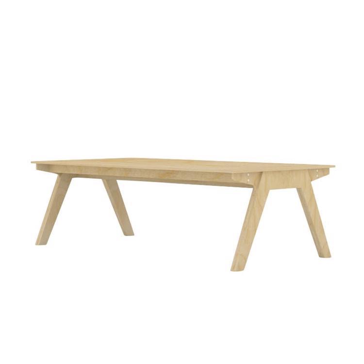 CNCオーダー家具 ミーティングテーブル バーチ天板