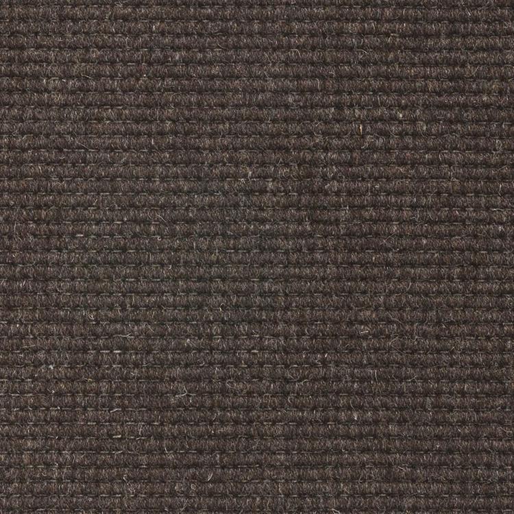 ウールカーペット ダークブラウン