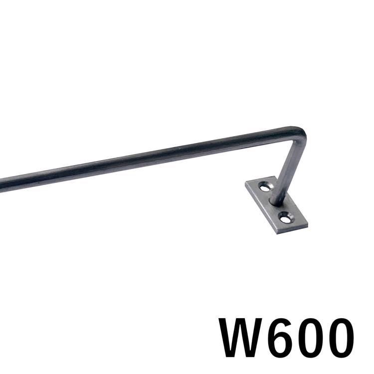 ハンガーバー φ6 ステンレス W600