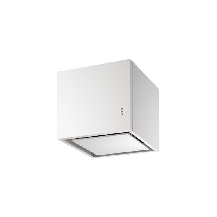 キューブ型レンジフード 照明なし W450×H400 ホワイト