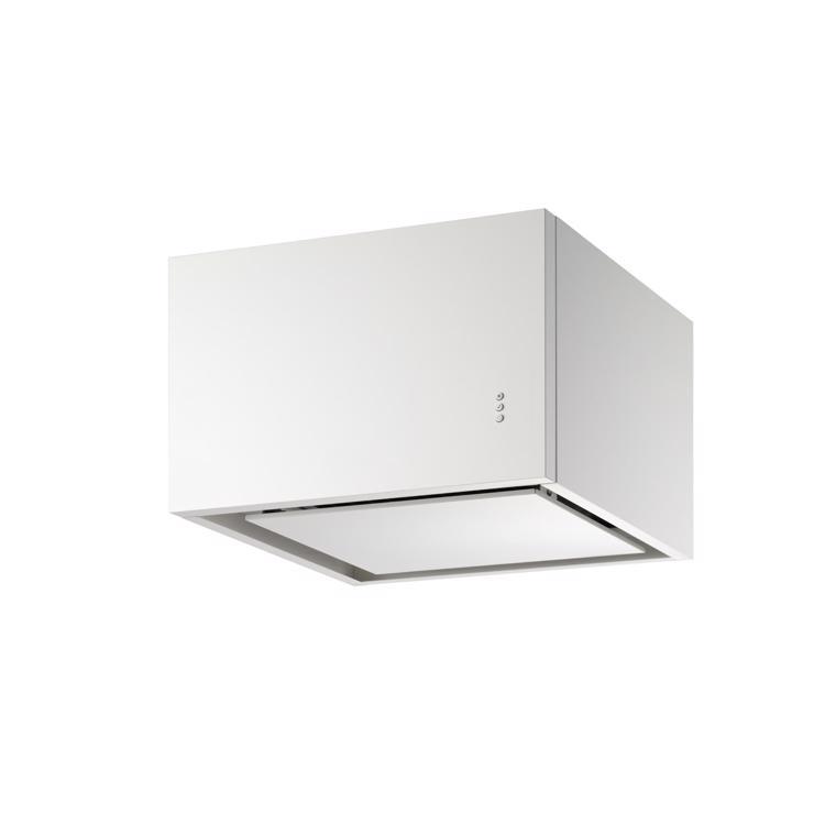 キューブ型レンジフード 照明なし W600×H400 ホワイト