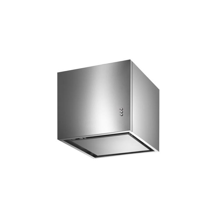 キューブ型レンジフード 照明なし W450×H400 ステンレス