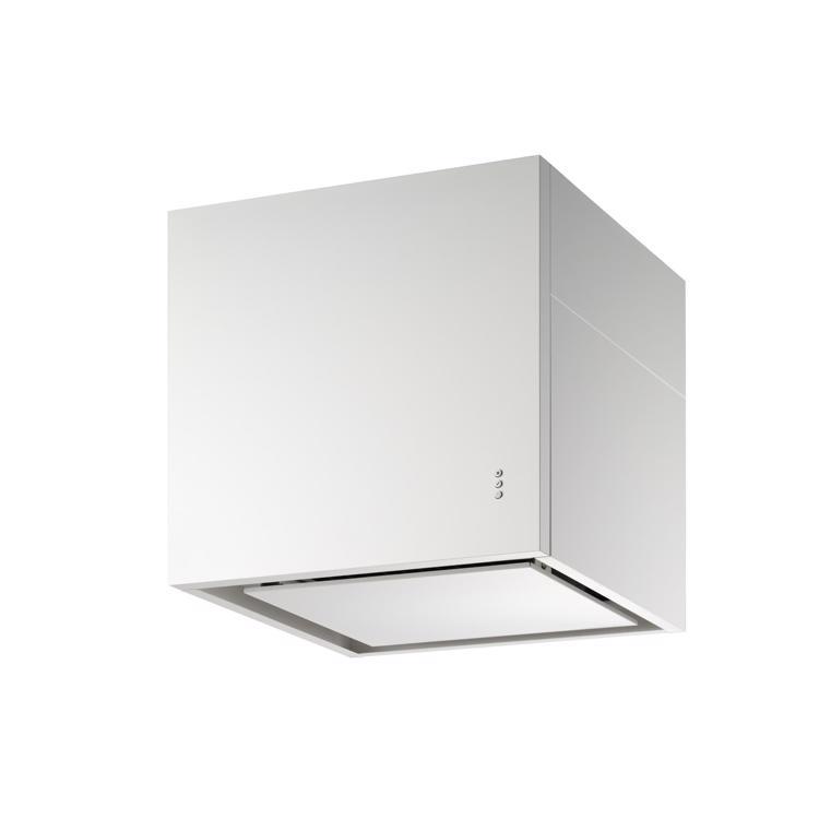 キューブ型レンジフード 照明なし W600×H600 ホワイト